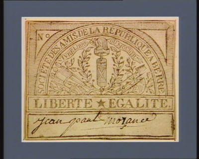 Société des amis de la Republique a Berre [estampe]