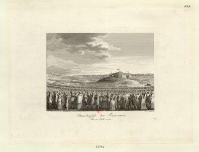 Bundesfest der Franzosen den 14. Julii. 1790 : [estampe]