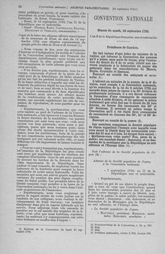 Tome 75 : Du 23 septembre au 3 octobre 1793 - page 56