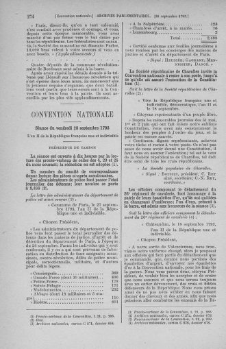 Tome 75 : Du 23 septembre au 3 octobre 1793 - page 274