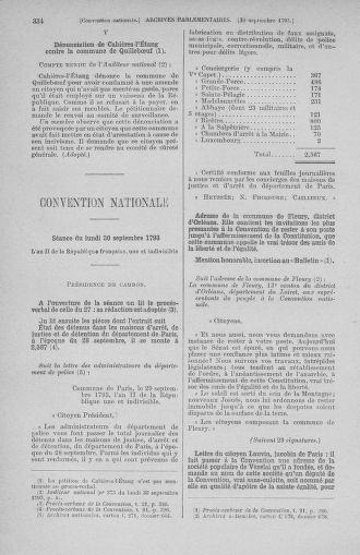 Tome 75 : Du 23 septembre au 3 octobre 1793 - page 334