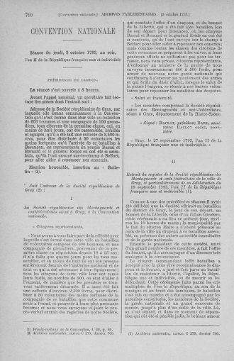 Tome 75 : Du 23 septembre au 3 octobre 1793 - page 710