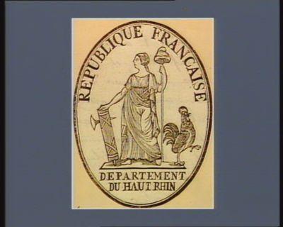 République française Departement du Haut Rhin : [estampe]