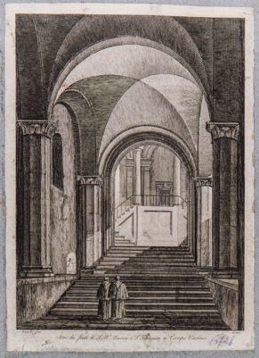 Chiesa di Santa Francesca Romana, atrio