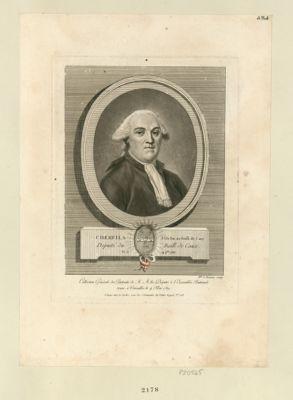 Cherfils P.r du Roi au Baill. de Cany Député du Baill. de Caux. Né le 14 9.bre 1737 : [estampe]