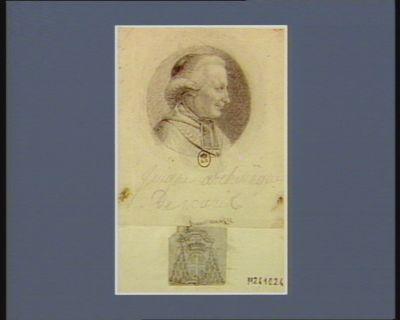 Juigné archevêque de Paris [dessin]