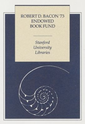Robert D. Bacon Endowed Book Fund