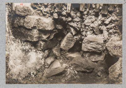 Campidoglio, sostruzioni del lato meridionale