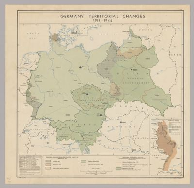 Map Of Germany In 1914.Maps Of Germany Office Of Strategic Services Maps Spotlight At