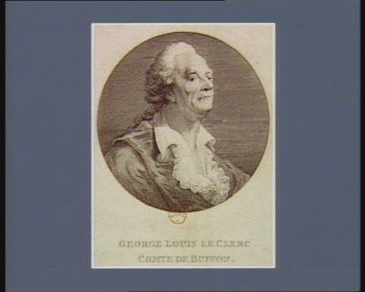 George Louis Leclerc comte de Buffon [estampe]
