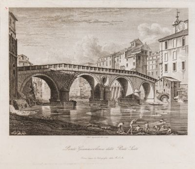Ponte Sisto, veduta generale