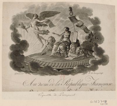 Au nom de la République française [a tous les officiers civils et militaires...] [estampe]