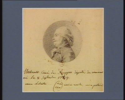 Thibault curé de Souppes député de Nemours né le 8 septembre 1749 : [dessin]