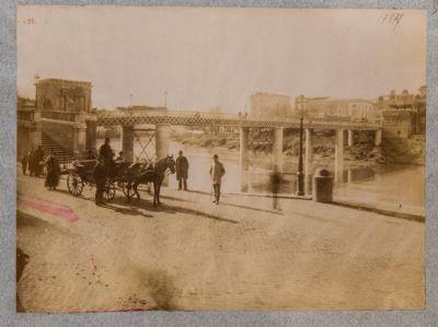 Ponte di Ripetta, ponte in ferro sostituito dall'odierno ponte Cavour