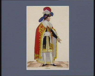 Gohier membre du Directoire exécutif en grand costume [estampe]