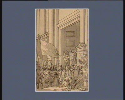 [Troisième événement du cinq octobre <em>1789</em>] [dessin]