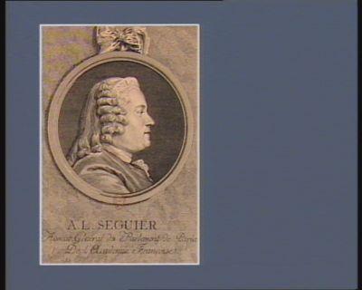 A.L. Seguier avocat general du Parlement de <em>Paris</em>, de l'Academie française : [estampe]