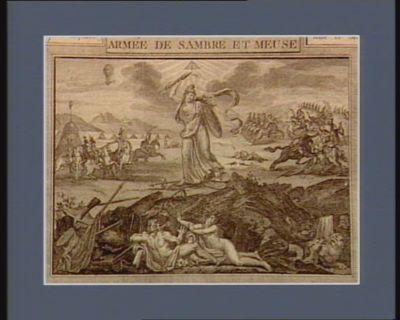 Armée de Sambre et Meuse Jourdan, général en chef de l'armée de Sambre et Meuse... : [estampe]