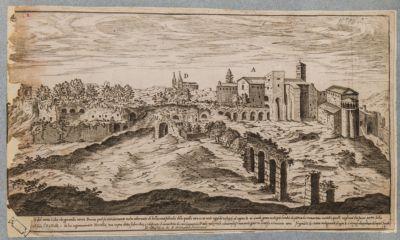 Acquedotto Claudio nei pressi del Monte Celio