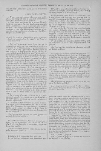 Tome 64 : Du 2 au 16 mai 1793 - page 7