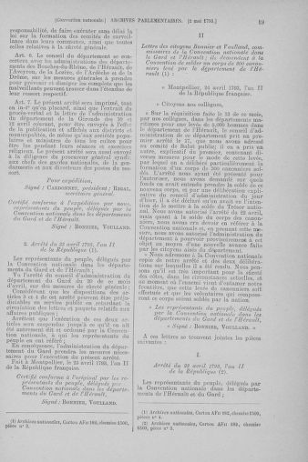 Tome 64 : Du 2 au 16 mai 1793 - page 19