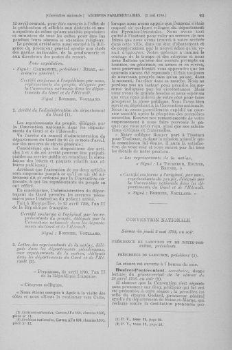 Tome 64 : Du 2 au 16 mai 1793 - page 23