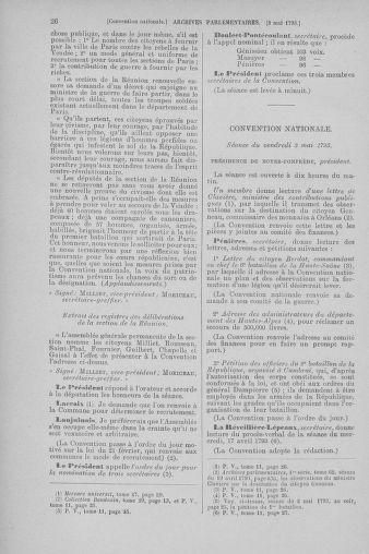 Tome 64 : Du 2 au 16 mai 1793 - page 26
