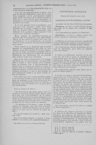Tome 64 : Du 2 au 16 mai 1793 - page 40