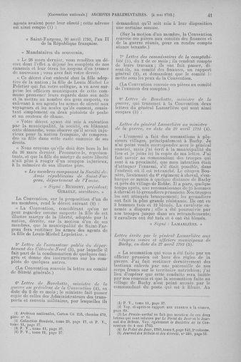 Tome 64 : Du 2 au 16 mai 1793 - page 41