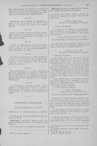 Tome 64 : Du 2 au 16 mai 1793 - page 123