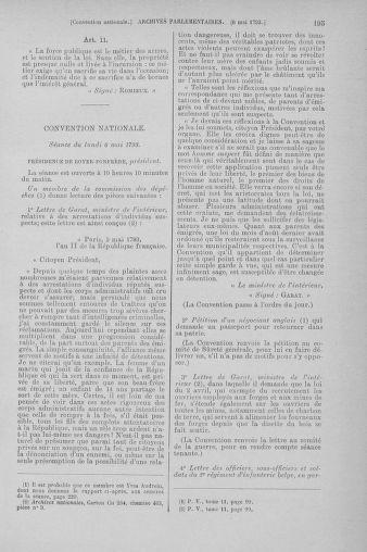 Tome 64 : Du 2 au 16 mai 1793 - page 195