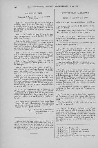 Tome 64 : Du 2 au 16 mai 1793 - page 260