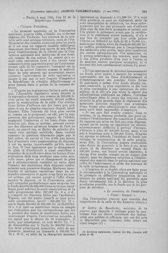 Tome 64 : Du 2 au 16 mai 1793 - page 261