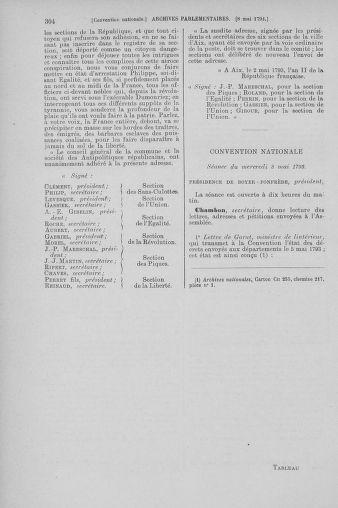 Tome 64 : Du 2 au 16 mai 1793 - page 304