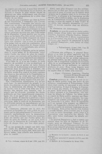 Tome 64 : Du 2 au 16 mai 1793 - page 415