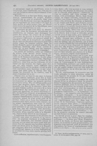 Tome 64 : Du 2 au 16 mai 1793 - page 426
