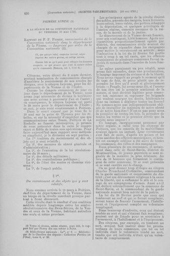 Tome 64 : Du 2 au 16 mai 1793 - page 436