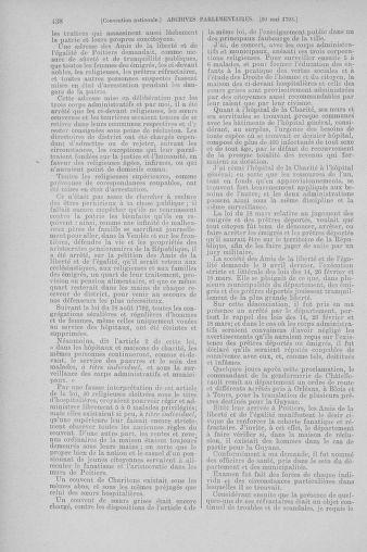 Tome 64 : Du 2 au 16 mai 1793 - page 438