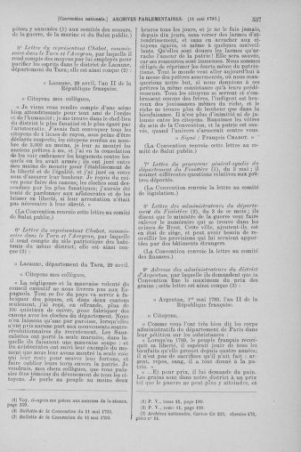 Tome 64 : Du 2 au 16 mai 1793 - page 537