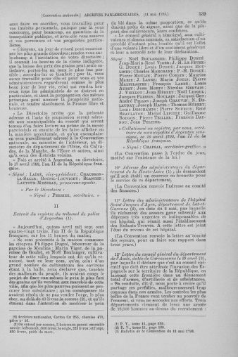 Tome 64 : Du 2 au 16 mai 1793 - page 539