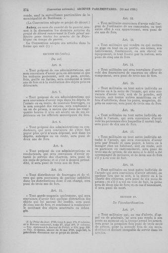 Tome 64 : Du 2 au 16 mai 1793 - page 574