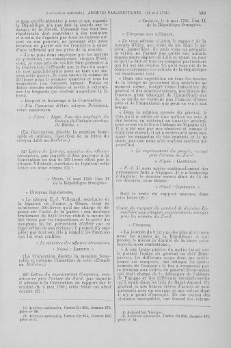 Tome 64 : Du 2 au 16 mai 1793 - page 589