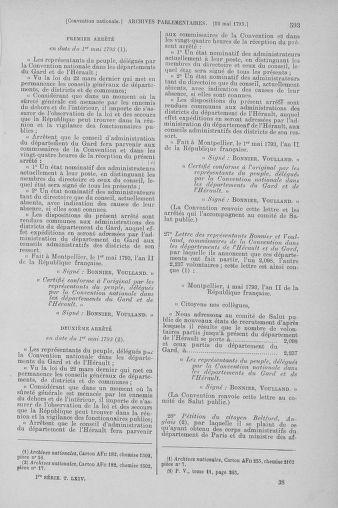 Tome 64 : Du 2 au 16 mai 1793 - page 593