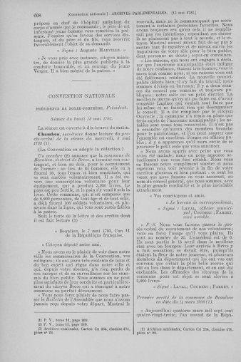 Tome 64 : Du 2 au 16 mai 1793 - page 608