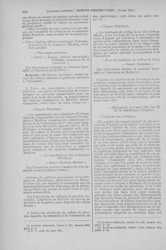 Tome 64 : Du 2 au 16 mai 1793 - page 610