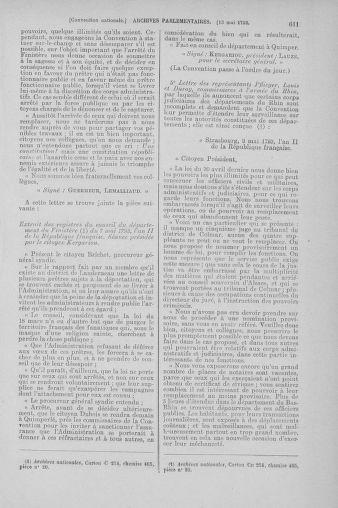 Tome 64 : Du 2 au 16 mai 1793 - page 611