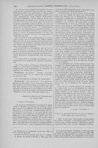 Tome 64 : Du 2 au 16 mai 1793 - page 618