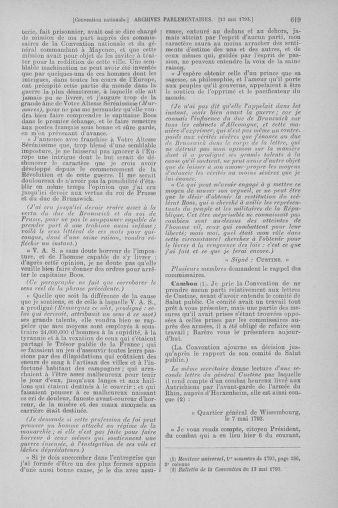 Tome 64 : Du 2 au 16 mai 1793 - page 619