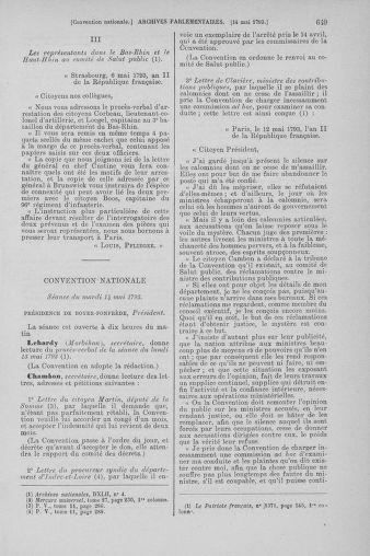 Tome 64 : Du 2 au 16 mai 1793 - page 649