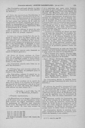 Tome 64 : Du 2 au 16 mai 1793 - page 651